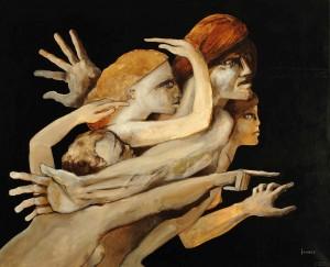 Galerie Montpellier | Pierre Lohner: Les voyageurs