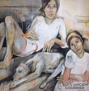 Galerie Montpellier | Elisa Cossonnet: Le chien noir