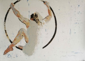 "Galerie Montpellier   Magí Puig: Sérigraphie ""Hoop"""