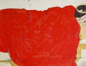 "serigraphie ""Somni vermell"""