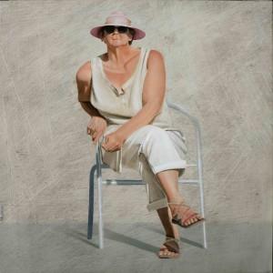 Galerie Montpellier | Fréderic Blaimont: Le chapeau rose