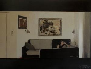 Galerie Montpellier | Magí Puig: interior amb Alicia