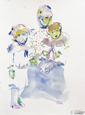 Galerie Montpellier | Carmen Selma: la viuda azul