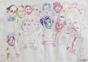 Galerie Montpellier | Carmen Selma: La familia que se cree completa