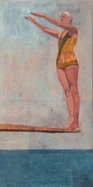 Galerie Montpellier | Rusiñol Masramon: Nadadora lista