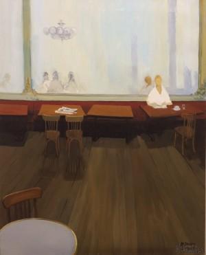Galerie Montpellier | Bernard Calvet: Le grand café