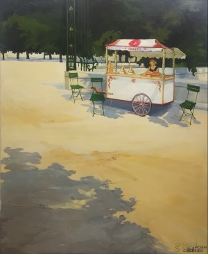 Galerie Montpellier | Bernard Calvet: La marchande de glaces