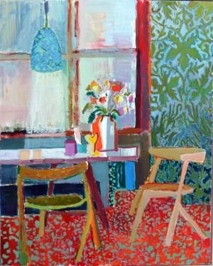 Galerie Montpellier | Kirsten Bøgh: Assis à la fenêtre
