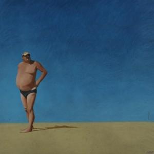Galerie Montpellier | Fréderic Blaimont: L'homme sur le côté