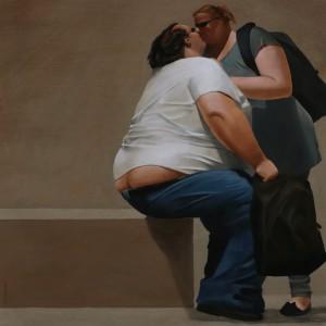Galerie Montpellier | Fréderic Blaimont: Le très gros baiser