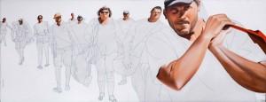 Galerie Montpellier | Fréderic Blaimont: Les guerriers