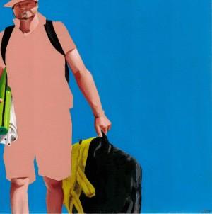Galerie Montpellier | Fréderic Blaimont: Guerrier n°14