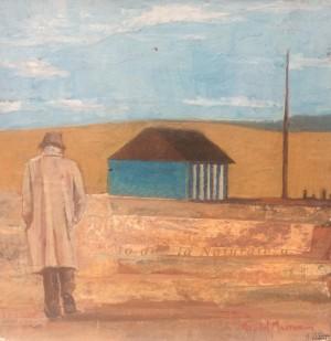 Galerie Montpellier | Rusiñol Masramon: L'homme au chapeau