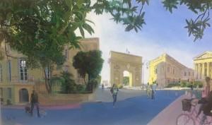 Galerie Montpellier | David Rycroft: Rue Foch