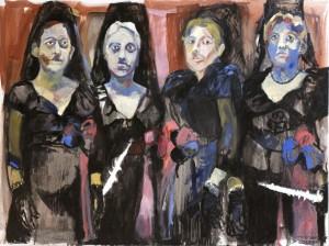 Galerie Montpellier | Carmen Selma: Ponte la mascara y la peineta
