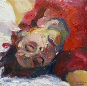 Galerie Montpellier | Carmen Selma: Mathilde au repos