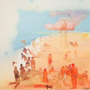 Galerie Montpellier | Linette Cajou: Rêve de Carnon