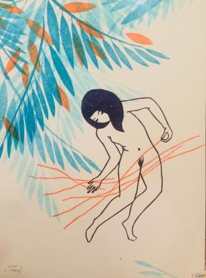 Galerie Montpellier | Evelyne Mary: Les fils