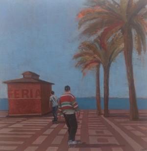 Galerie Montpellier | Rusiñol Masramon: Skaters a la platja