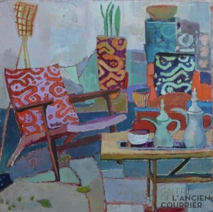 Galerie Montpellier | Accueil: Outside with flowerpots