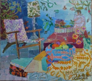 Galerie Montpellier | Kirsten Bøgh: Tableau in blue