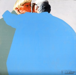 Galerie Montpellier | Fréderic Blaimont: Embrassade 5