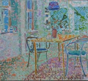 Galerie Montpellier | Kirsten Bøgh: Light in the dining room