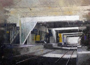 Entre en gare