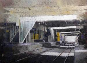Galerie Montpellier | Christophe Marmey: Entre en gare