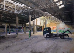 Galerie Montpellier | Christophe Marmey: Le camion vert