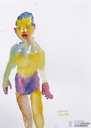 Galerie Montpellier | Carmen Selma: Baigneur