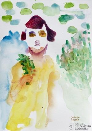Galerie Montpellier | Carmen Selma: Une petite fille