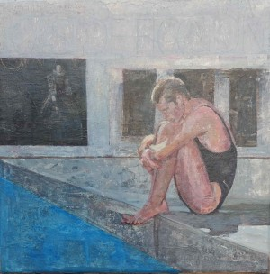 Galerie Montpellier | Accueil: Le baigneur