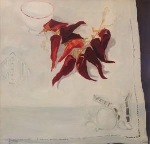 Galerie Montpellier | Bernard Calvet: La nappe brodée