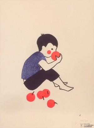 Galerie Montpellier | Evelyne Mary: Les pommes