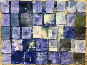 Galerie Montpellier | Elisa Cossonnet: Bleu II
