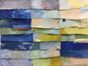 Galerie Montpellier | Elisa Cossonnet: Bleu III