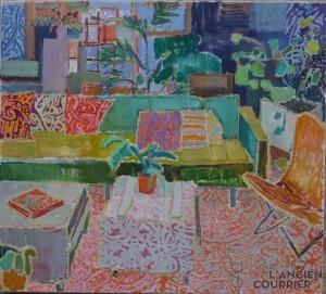 Galerie Montpellier | Kirsten Bøgh: Elle peut lire le livre