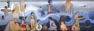Galerie Montpellier | Accueil: Plage bleutée