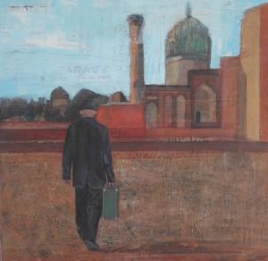 Touriste en Ouzbekistan