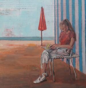 Galerie Montpellier | Rusiñol Masramon: La fille qui lit