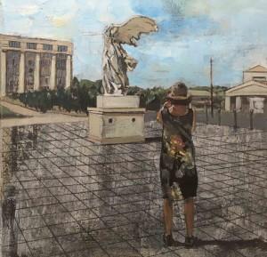 Galerie Montpellier | Rusiñol Masramon: Esplanade de l'Europe - Samothrace