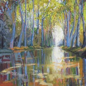 Galerie Montpellier | David Rycroft: Les platanes III