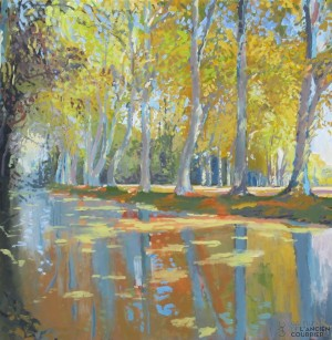 Galerie Montpellier | David Rycroft: Les platanes VIII