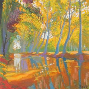 Galerie Montpellier | David Rycroft: Les platanes IV