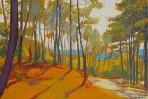 Galerie Montpellier | David Rycroft: Fozieres afternoon