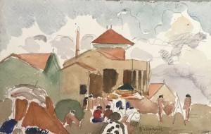 Galerie Montpellier | Richarme : Palavas, maisons et plages 1950