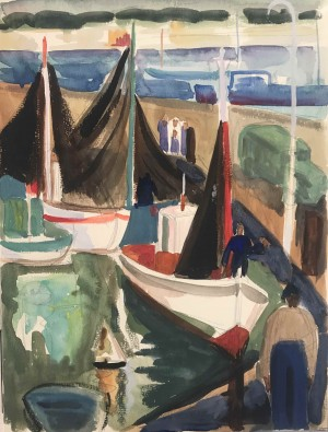 Galerie Montpellier | Richarme: le port 1958