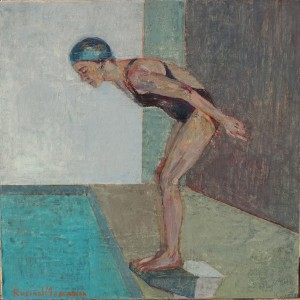 Galerie Montpellier | Rusiñol Masramon: Banyista I