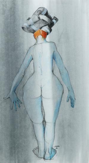 Galerie Montpellier | Pierre Lohner: Femme au turban